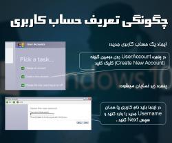 پاورپوینت بررسی حساب های کاربری در ویندوز